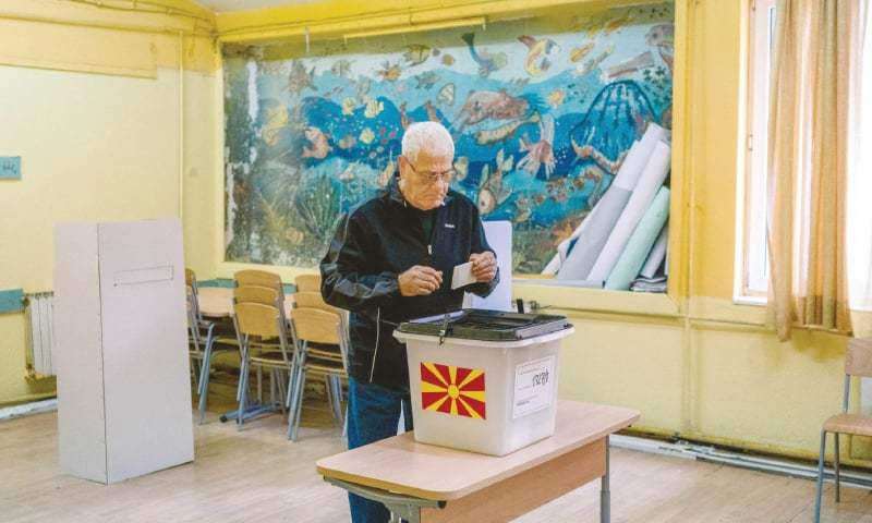 Referendum on name change of country takes place in Macedonia
