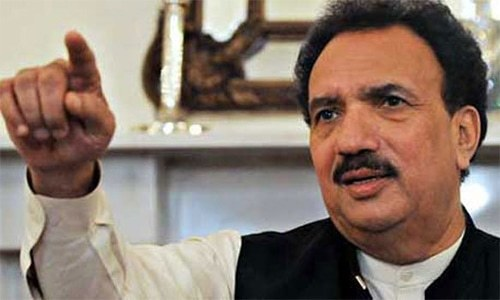 PPP leader Rehman Malik. — Photo/File
