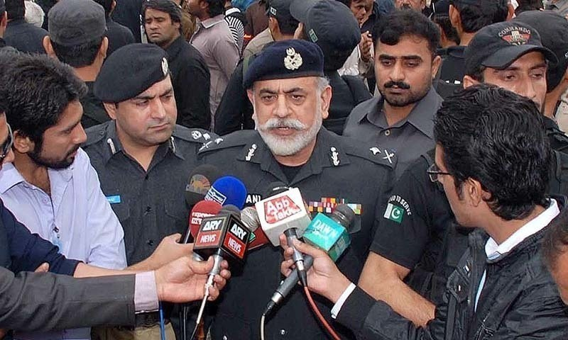 IGP Nasir Khan Durrani. — Photo/File