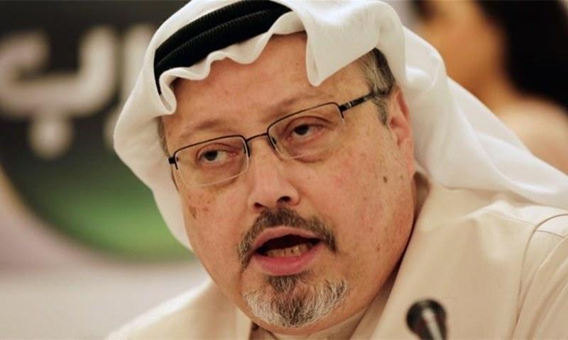 جمال خشوگی سعودی حکومت کی پالیسیوں پر تنقید کرتے تھے—فوٹو:اے پی
