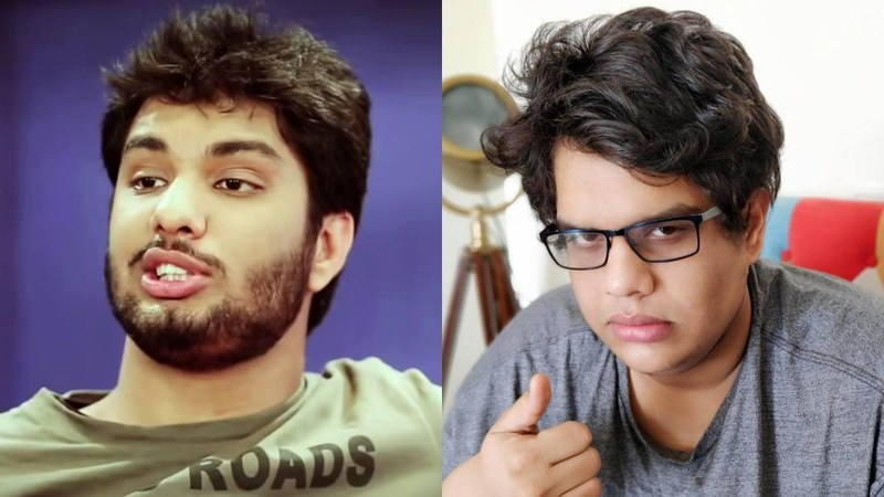 Gursimran Khamba (L) has been accused of sexual misconduct and CEO Tanmay Bhat, of enabling another sexual predator