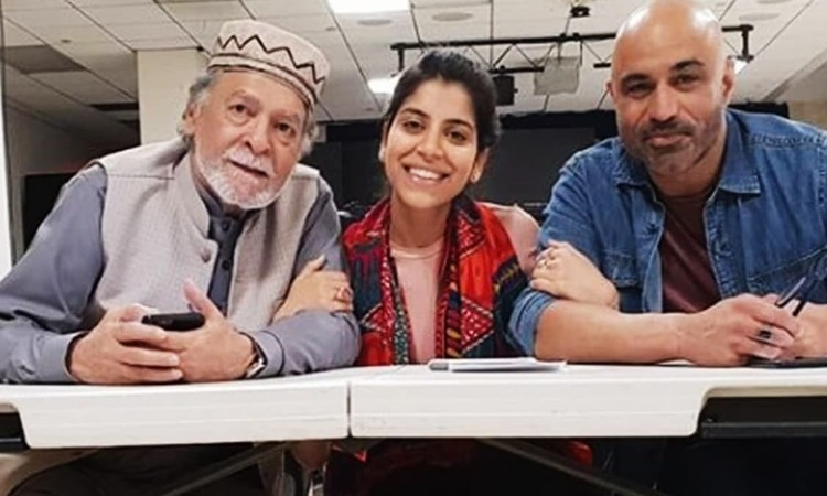 Qavi Khan with his Forbidden Steps co-stars