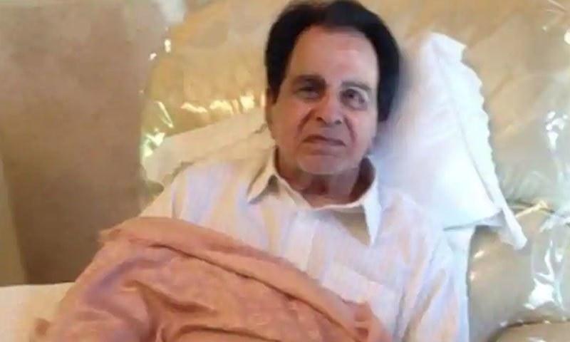 دلیپ کمار گزشتہ چند سال سے بیمار ہیں—فائل فوٹو: ہندوستان ٹائمز