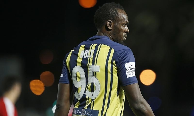 Usain Bolt on the field. — File Photo