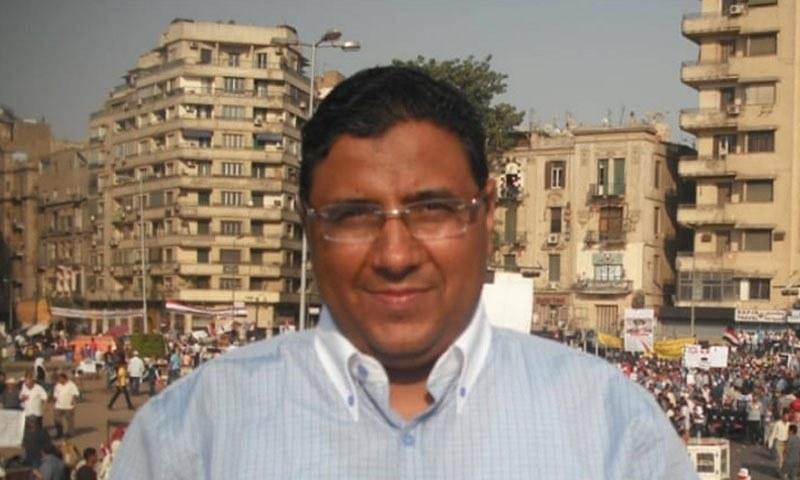 محمود حسین مصر کی جیل میں 661 دن سے قید ہیں —فوٹو: الجزیزہ
