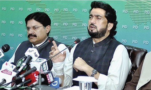 Minister of State for Interior  Shaharyar Afridi. — File