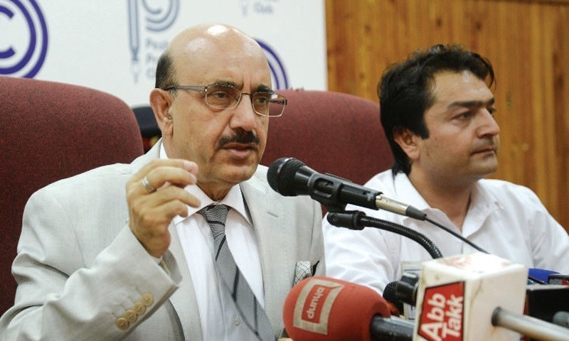 Azad Jammu and Kashmir president Sardar Masood Khan. — Photo/File