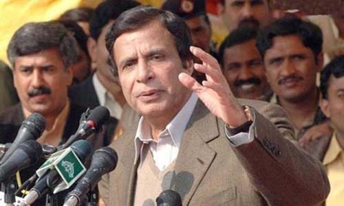 PML-Q leader Chaudhry Pervaiz Elahi. ─ File photo