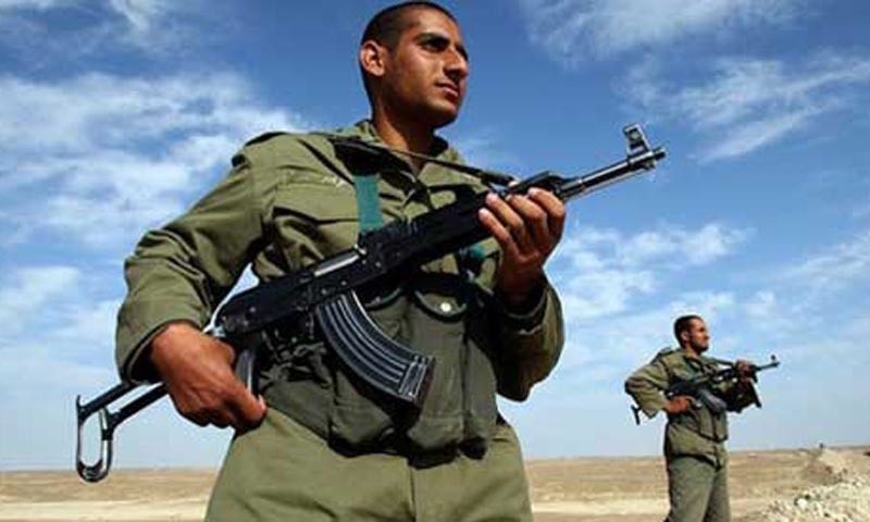 Iranian border guards kidnapped on border with Pakistan