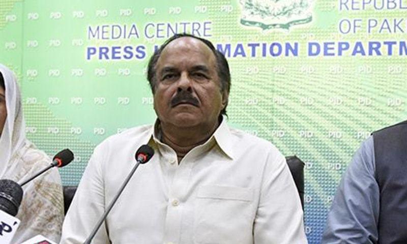 Pakistan Tehreek-i-Insaf (PTI) leader Naeemul Haq. — File Photo