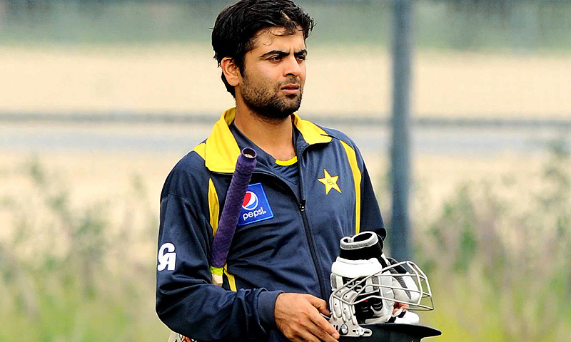 Shehzad is currently serving a four-month doping ban. — File