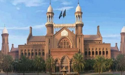 The Lahore High Court building.— File