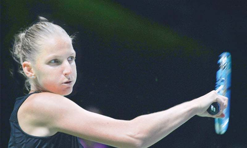 WTA Finals: Pliskova beats Wozniacki in straight sets