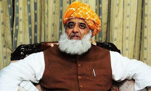Jamiat Ulema-e-Islam Fazl chief Maulana Fazlur Rehman. — AFP/ File