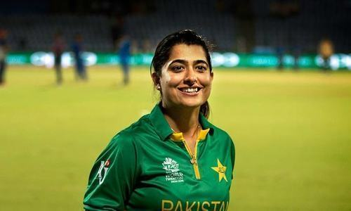 Sana Mir becomes the new top-ranked ODI bowler in women's cricket. — File