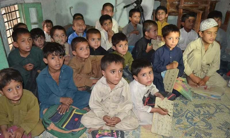 A file photo of a school in Quetta.