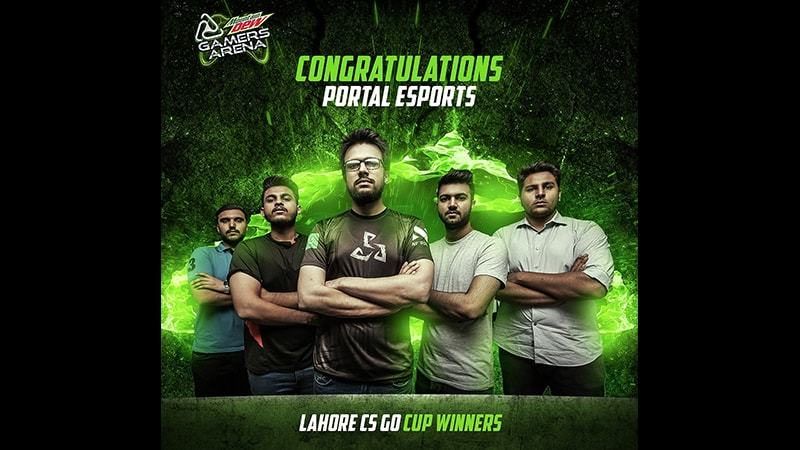 The first qualifier for Counter Strike was held in Lahore recently and won by a local team, Portal Esports.
