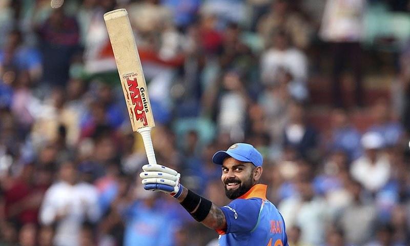 Virat Kohli breaks Sachin Tendulkar's record as fastest to 10,000 ODI runs
