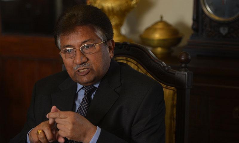 A File photo of Former president retired Gen Pervez Musharraf.