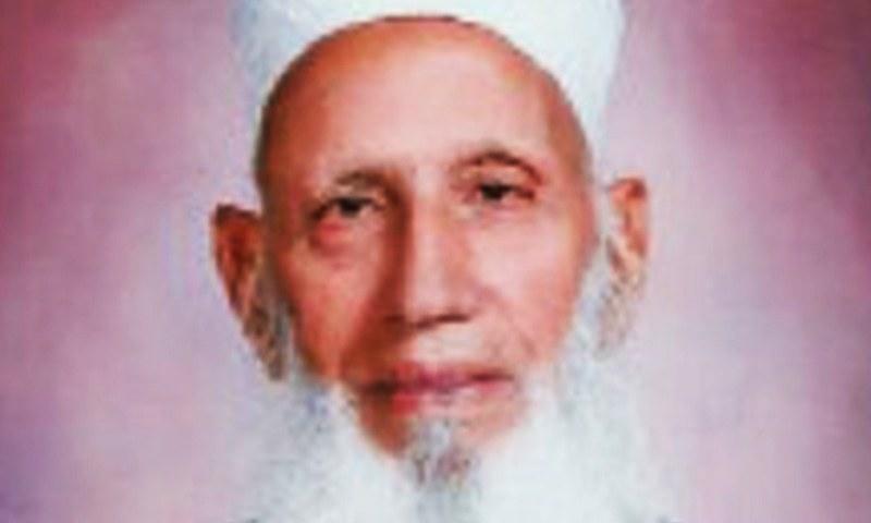 Baba Haider Zaman.— File