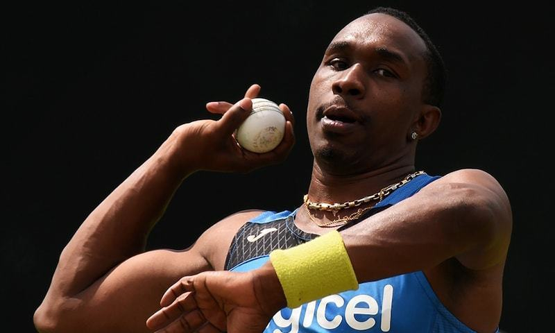 West Indies all-rounder Dwayne Bravo. — File Photo