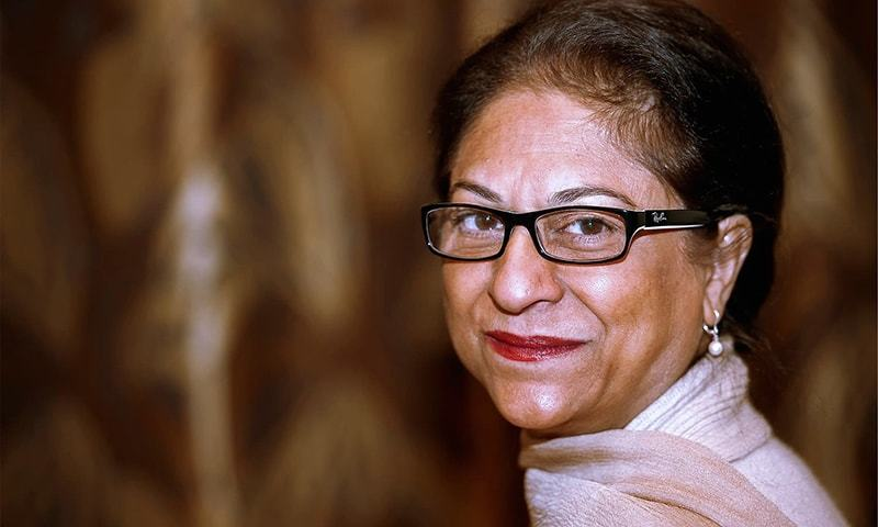Asma Jahangir honoured by the UN posthumously. — File