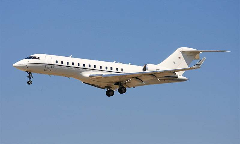 A Bombardier Global Express jet. ─ Wikimedia Commons