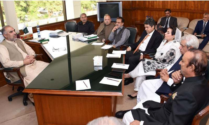National Assembly Speaker Asad Qaiser is unable to constitute other committees as well due to the opposition's boycott threat. — Photo/File
