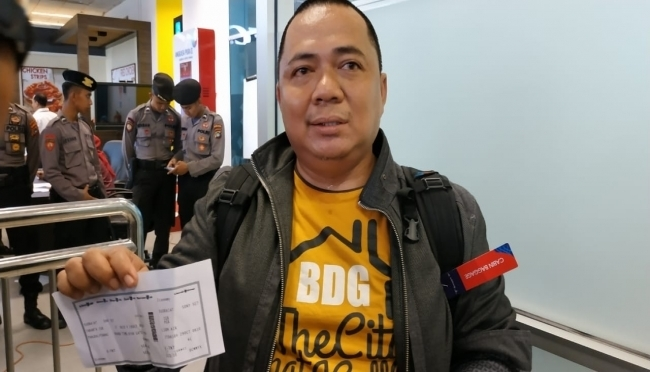 Sony Setiawan, an official in Indonesia's finance ministry, was supposed to be on board the ill-fated flight. — Photo courtesy klikbabel.com