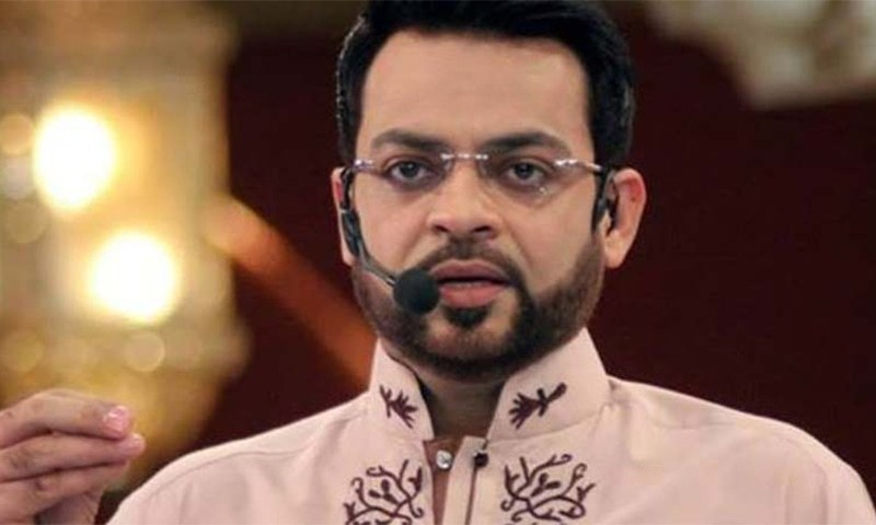 Televangelist and MNA Aamir Liaquat Hussain. — Photo/File