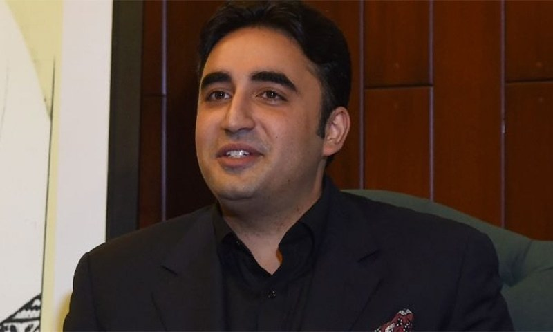 """""""We can [only] run this country according to the Constitution and law,"""" said Bilawal. — File photo"""