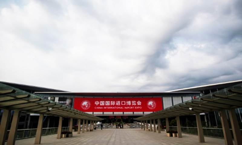 More than 3,000 companies from 130 countries are attending the China International Import Expo.— AFP/File