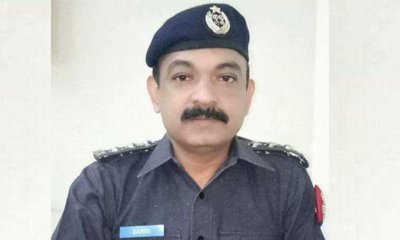 Inspector Zahid Mehmood. — DawnNewsTV