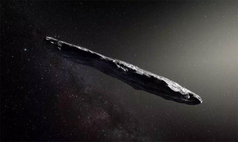 اومواموا کی خیالی تصویر — فوٹو بشکریہ ESO/M. Kornmesser