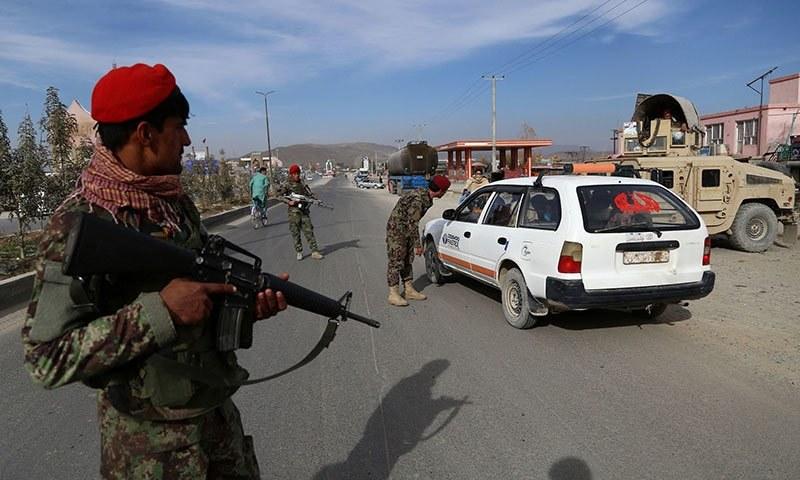 حالیہ عرصے میں افغانستان پر حکومتی افواج کی گرفت تیزی سے کم ہوئی ہے— فوٹو: اے ایف پی