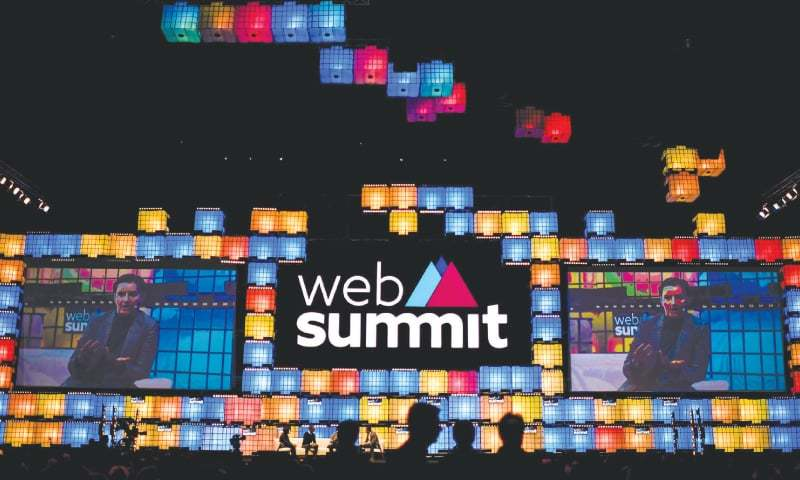 LISBON: Attendees at the 2018 edition of the annual Web Summit technology conference on Tuesday. — AFP