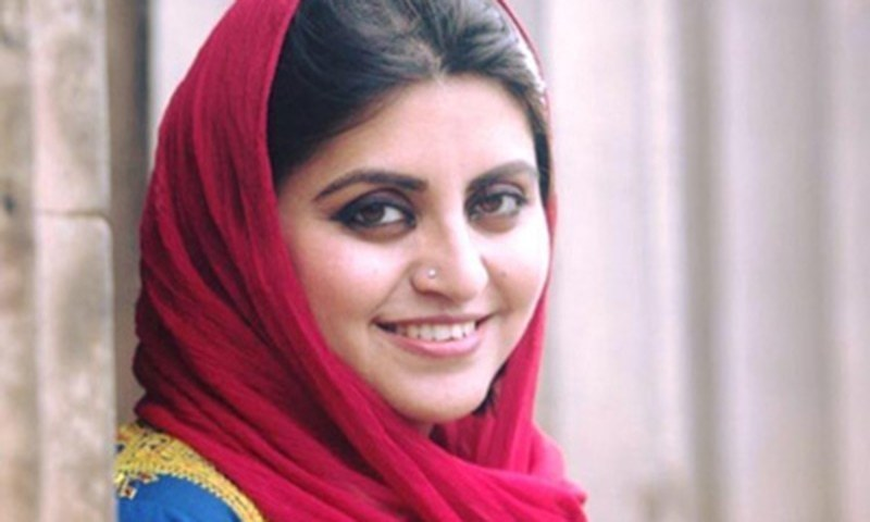 Pashtun women's rights activist Gulalai Ismail. ─ Photo courtesy RAW in War