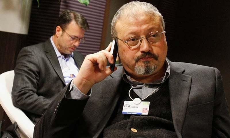سعودی  صحافی جمال خاشقجی — فوٹو : اے پی/فائل