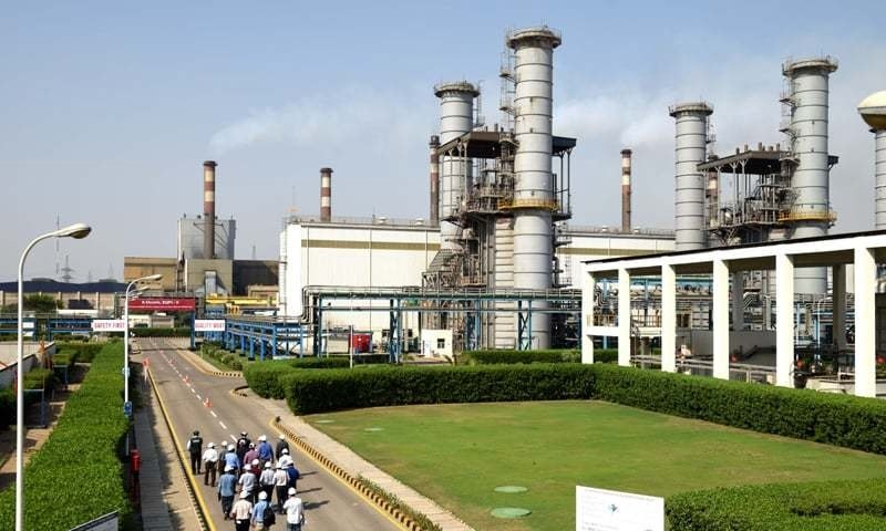 A view of K-Electric's Bin Qasim Power Station II in Karachi. — Dawn file photo
