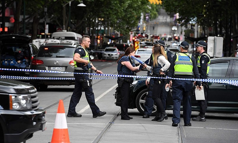 Melbourne CBD terror attack a 'wake-up call', Australian police say