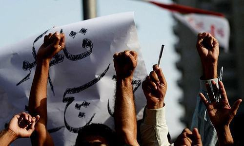 Journalists bodies have announced a protest against Chaudhry's 'detention' on Sunday outside the KPC. — File