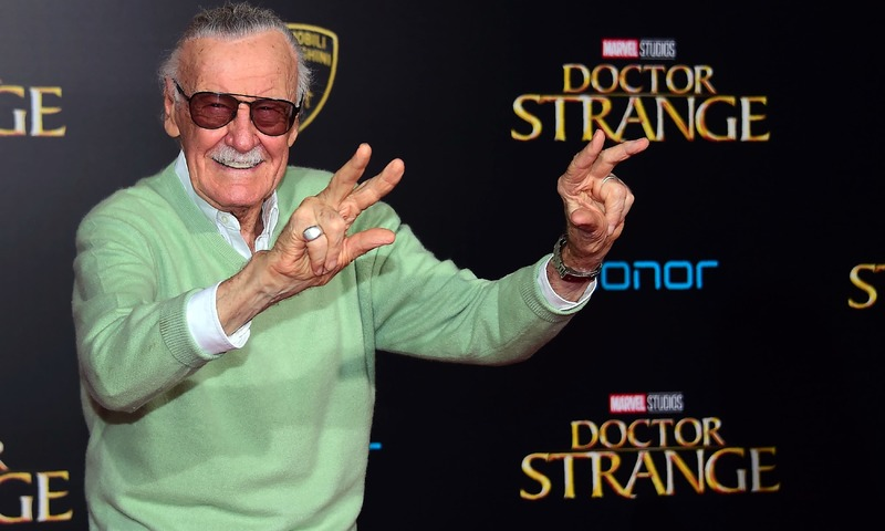 Stan Lee poses for photographers at the world premiere of Marvel Studios 'Doctor Strange' in Hollywood, California.  —AFP/File
