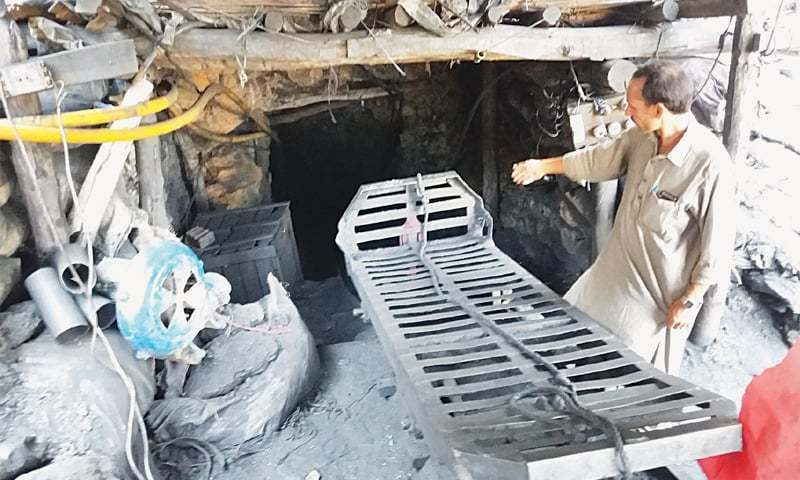 Locals say landowners, lease holders and agents earn billions of rupees from mines but labours are exposed to threat. — File photo
