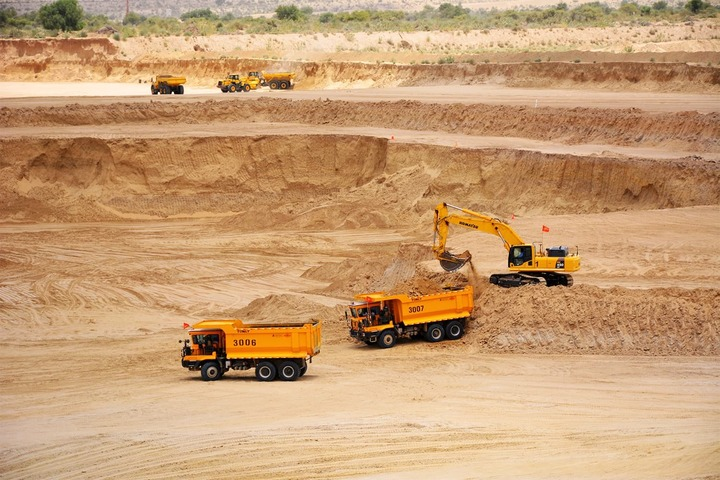 Pakistan's Thar desert contains one of the largest untapped coal deposits in the world.—Photo by Amar Guriro