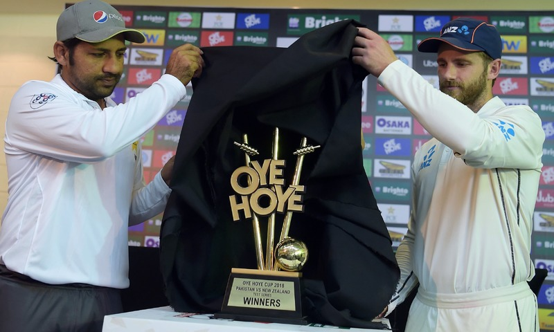 Black Caps batsmen struggle on day one in Pakistan