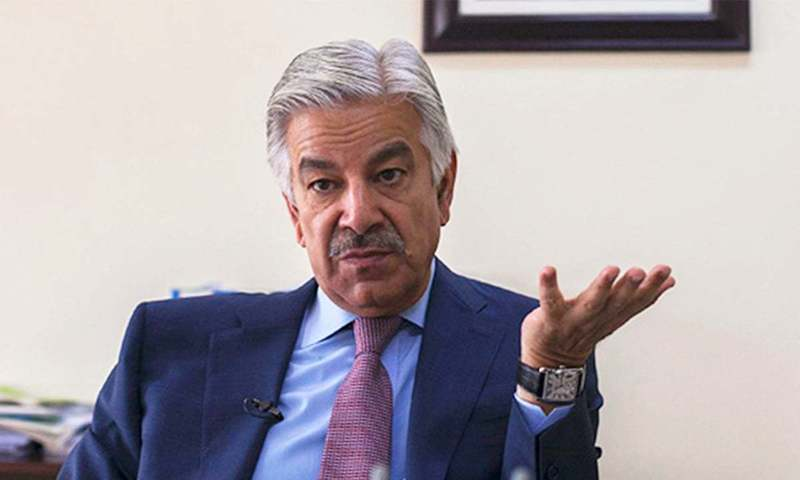 Pakistan Muslim League-Nawaz leader Khawaja Asif hit out at the premier, saying it was only a matter of time before he would backtrack on his 'U-turn' statement as well. — APP/File