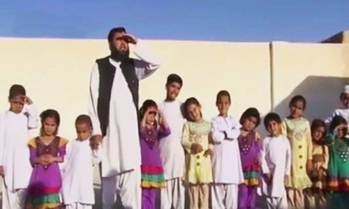 Resident of Quetta, 43-year-old Jan Mohammad, was expecting two more children. — DawnNewsTV/File