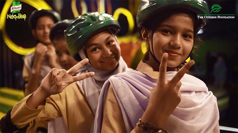 For every share of the Knorr Boriyat Busters' video, Knorr will donate Rs100 towards children's education in Pakistan.