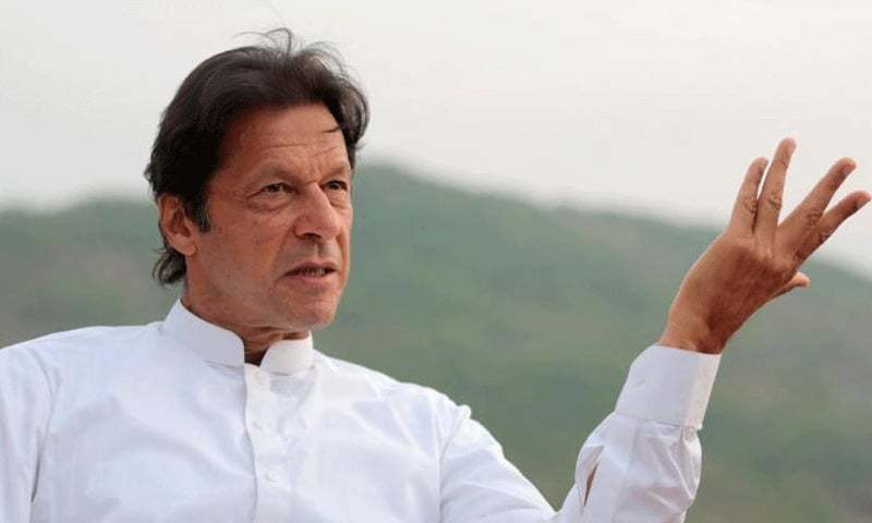 Prime Minister Imran Khan responds to US President Donald Trump's statements about Pakistan yesterday. ─ File photo