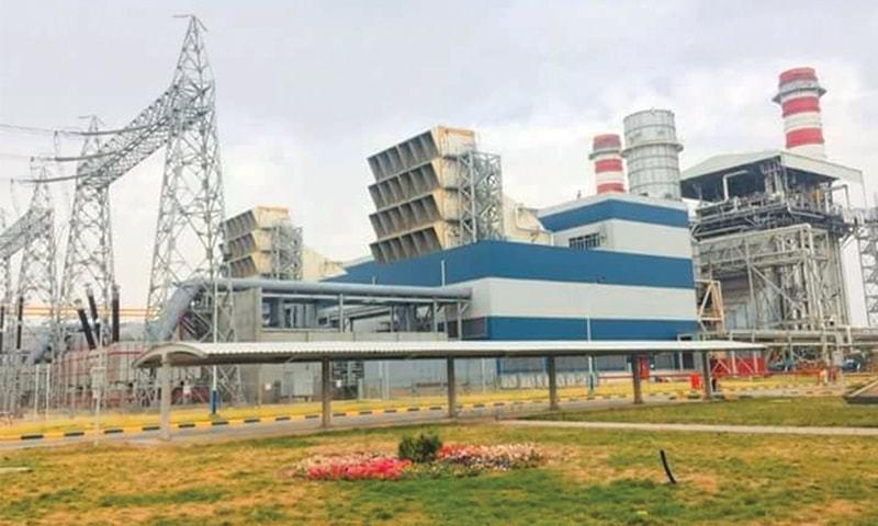 The Haveli Bahadur Shah RLNG power plant has a capacity to produce  1,230 MW. —Dawn Archives